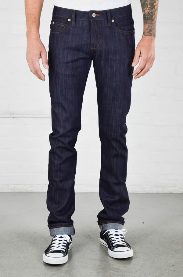 Men's Naked and Famous Skinny Guy Indigo Power Stretch