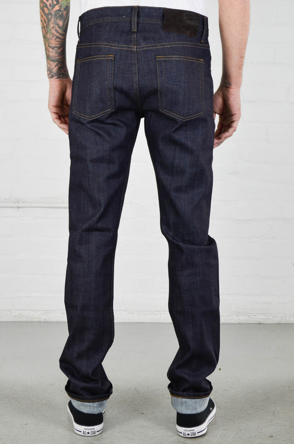 Naked and Famous Weird Guy Cashmere Blend Stretch Selvedge