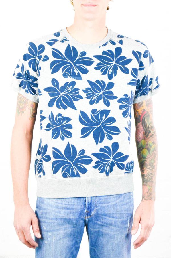 Men's Todd Snyder Champion Todd Snyder + Champion Floral Print Sweatshirt