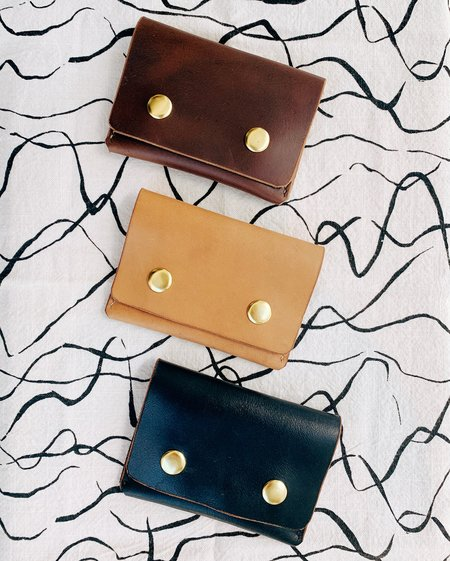 WOLF PACK LEATHER LEATHER SNAP WALLET