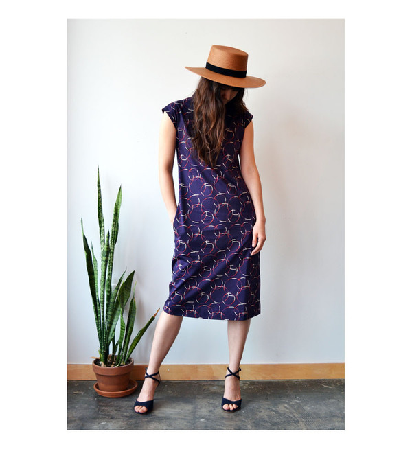 A.P.C. Bordeaux Rolla Dress