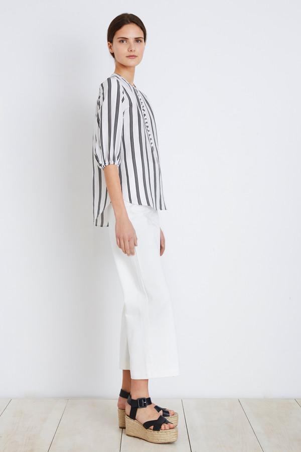 Apiece Apart Black Stripe Nueva Augustina Tunic