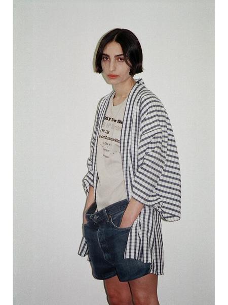 Bless Yukata shorts - indigo