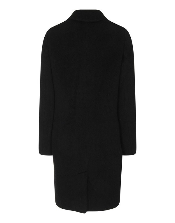 Naja Lauf - Black Mohair Malin Coat