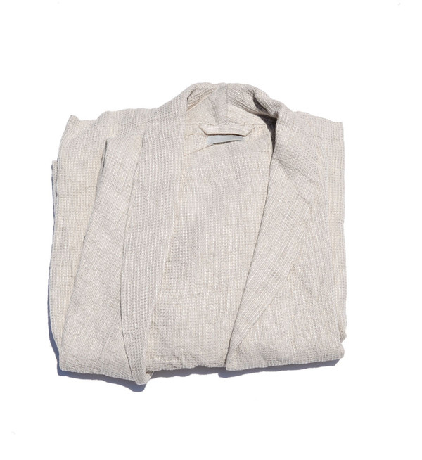 Fog Linen Natural Mia Bathrobe