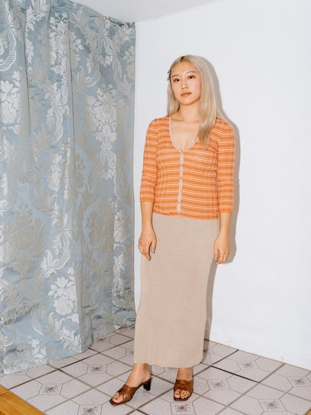 [PRE-LOVED] J. Peterman Company Silk Knit Skirt