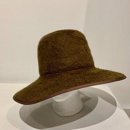 Brookes Boswell Violetto hat - Bronze Shag