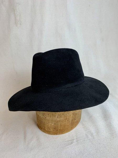 Brookes Boswell Wakefield Hat - Black Velour