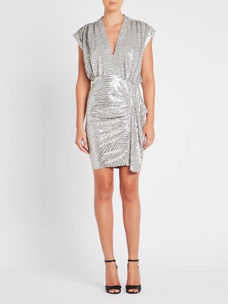 IRO Sagria Dress - silver