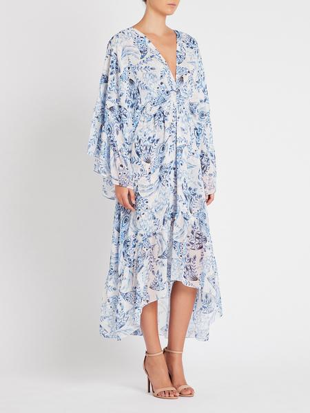 Misa Los Angeles Shadi Dress - Peacock