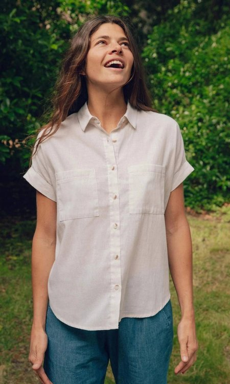 Mollusk Sunset Shirt - Natural