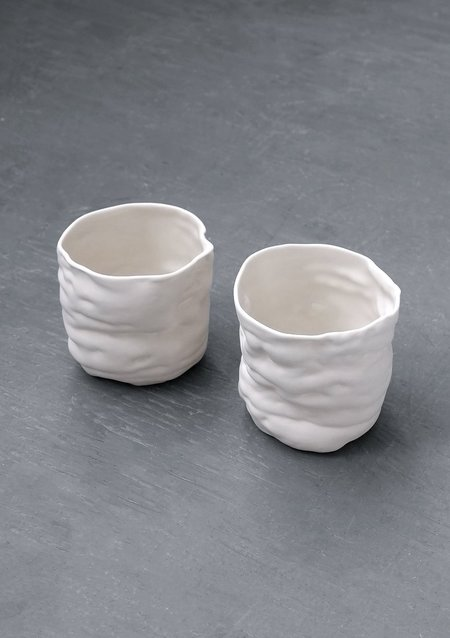 HALF-WET Growth Cup - white