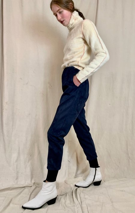 Anderst Edda Joggers pants - Navy