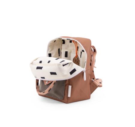 kids Sticky Lemon Cinnamon Sprinkles Envelope Backpack - brown