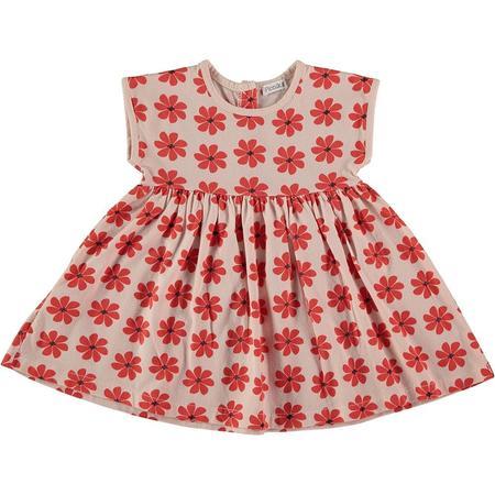 kids picnik flowers dress - pink