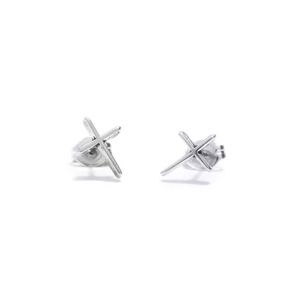 Bing Bang NYC - Skinny Cross Studs