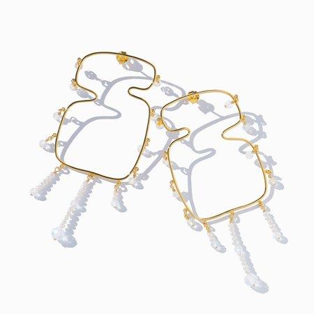 MING YU WANG Verge Earrings