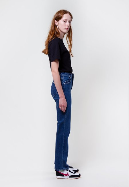 Rollas Original Straight Jeans - daria blue organic