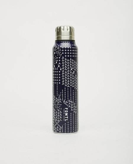 FDMTL x Thermo Mug Umbrella Bottle - Navy