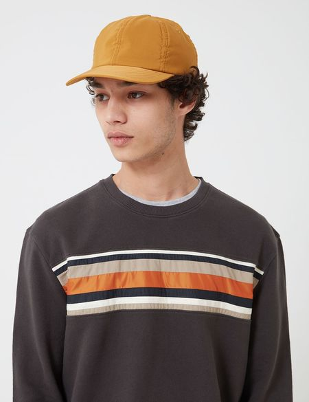 Folk Clothing Folk Six Panel Cap - Mustard