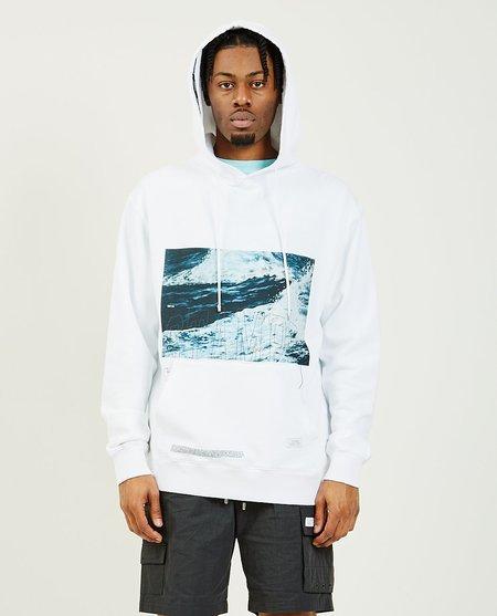 Stampd Waves Hoodie - White