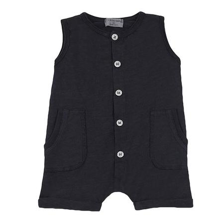 kids 1+ In The Family Baby And Child Troia Romper - Navy Blue