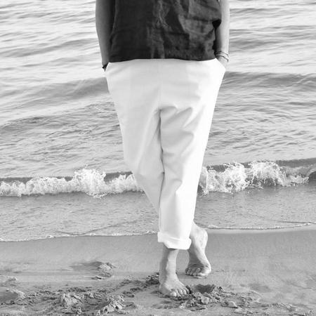 Le Vestiare de Jeanne Jeans - White