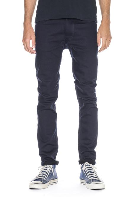 Men's Nudie Jeans Lean Dean | Dry Black Indigo
