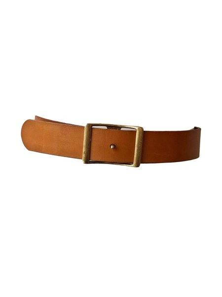 C.S. Simko Leather Waist Belt