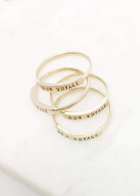 Christina Kober Designs Bon Voyage ring - 14K Gold
