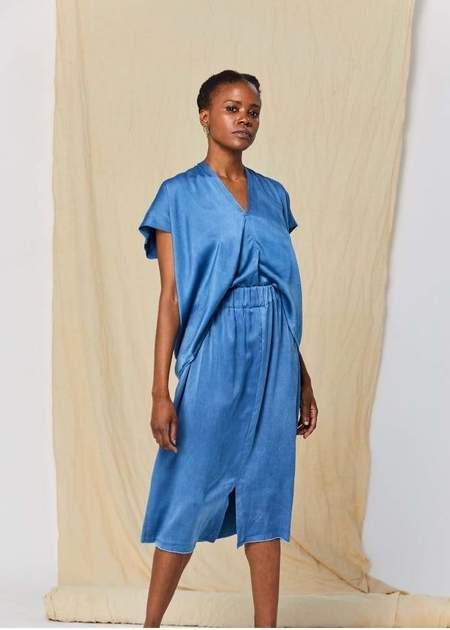 Miranda Bennett Paper Bag petite skirt - Blue