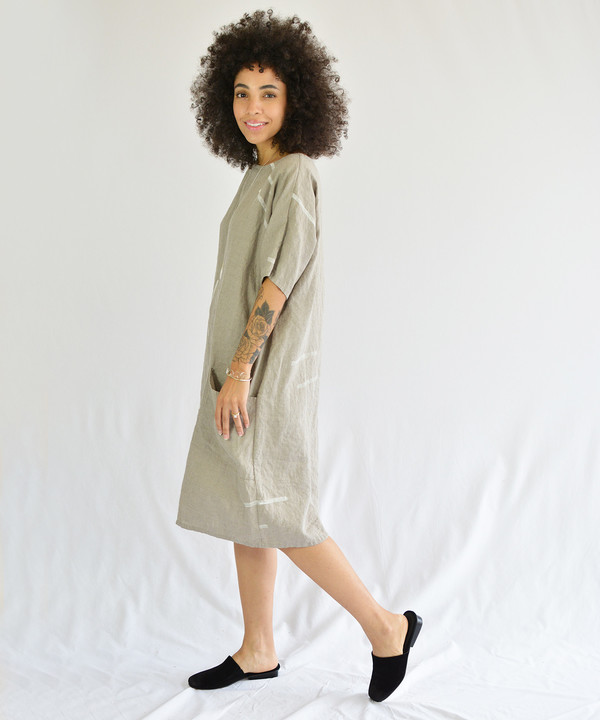 Studio.B Oatmeal Shapes Dress