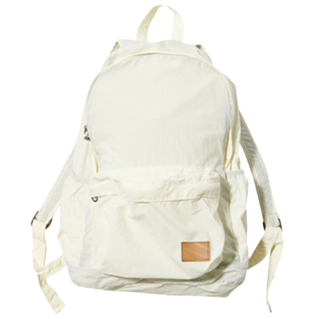 F/CE Nylon Packable Day Pack - White