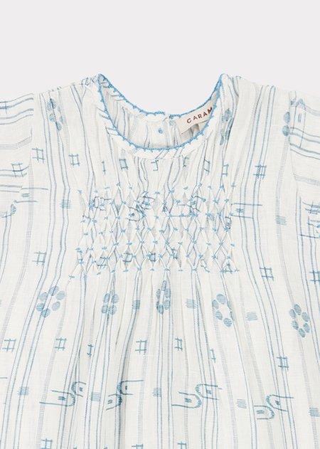Kids Caramel Clapham Dress - Vapour Blue