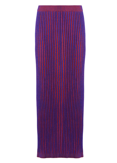 Suzanne Rae Plaited Knit Skirt