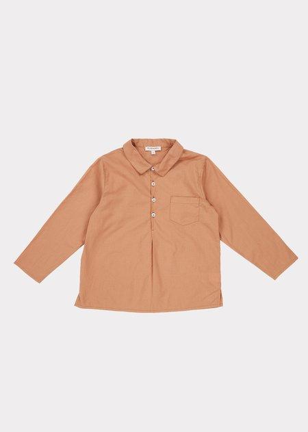 Kids Caramel Westminster Shirt - Toast