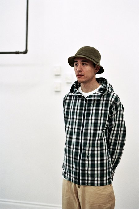 Pop Trading Company Simple Hooded Jacket Check