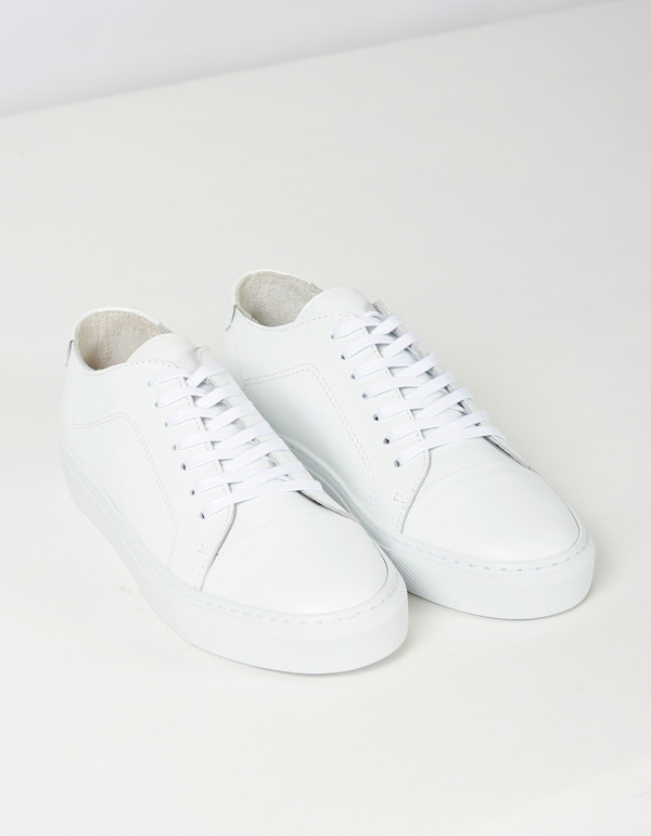 Men's Garment Project Classic Lace Sneaker White