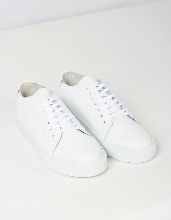 Men's Garment Project Classic Lace Sneaker White