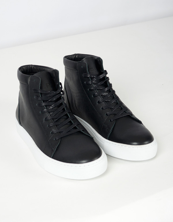 Men's Garment Project Legend High Top Sneaker Black