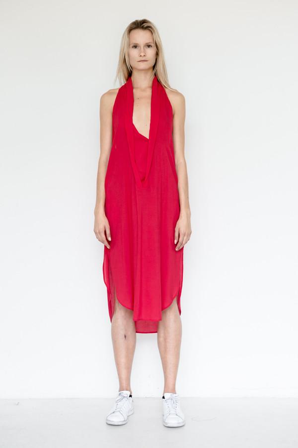 Assembly New York Rayon Shawl Dress