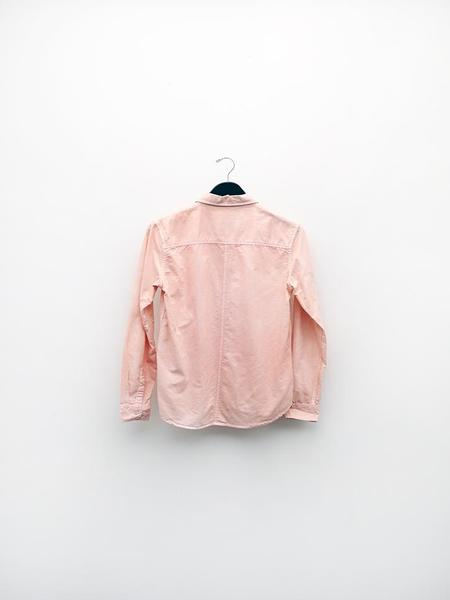 Audrey Louise Reynolds Organic Cotton Oxford Button Down Shirt - Pink