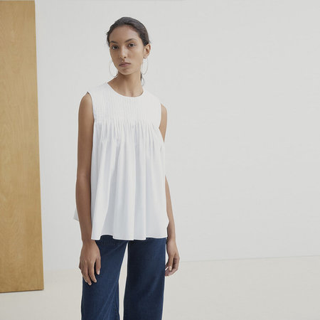 Kowtow Repetition top - white