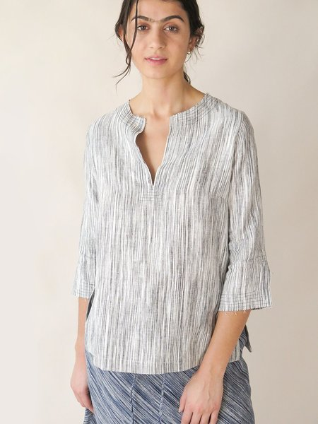 Erica Tanov edo top - pebble sketch stripe