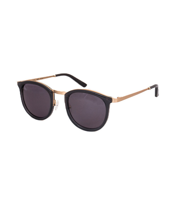 Smoke X Mirrors Comic Book Sunglasses in Black