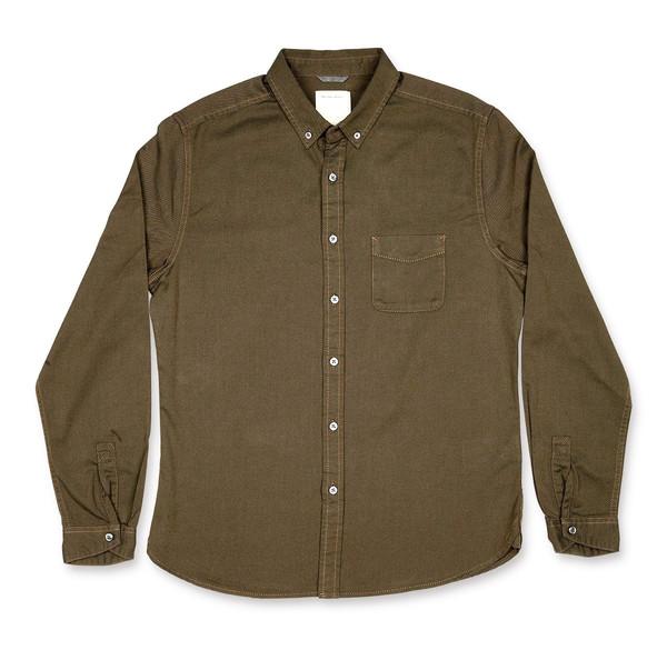 Men's life/after/denim Greenlight Shirt / Weed
