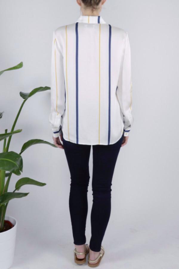 FRAME Denim Stripe Shirt