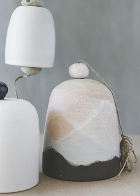 Notary Ceramics - Ceramic Bell in Small, Medium or Large