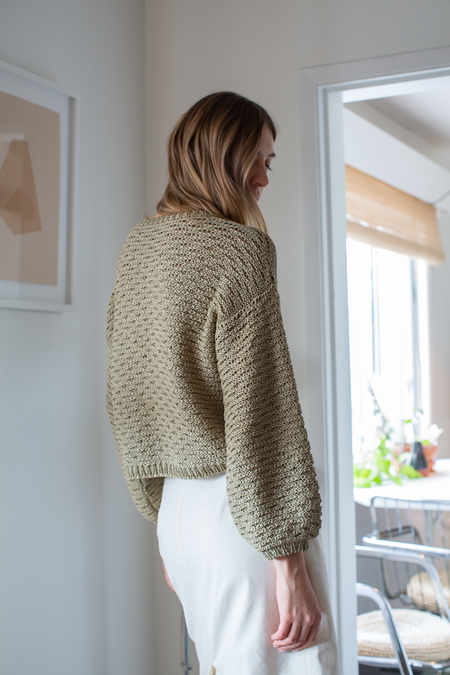 MILA ZOVKO IVA Sweater - Taupe