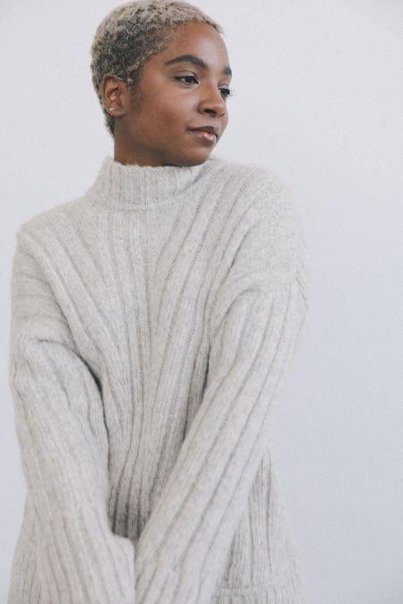 KORDAL STUDIO Tate Sweater - Fog Grey or Cream